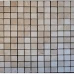 Marbre botticino- vieilli 2,3x2,3x1cm- 0,93m²par boite- 41,86m² palette