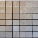Marbre botticino- vieilli 4,8x4,8x1cm- 0,93m²par boite- 41,86m²palette