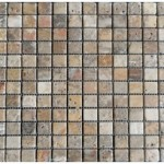 Marbre scabos- vieilli 4,8x4,8x1cm- 0,93m²par boite- 41,86m² palette