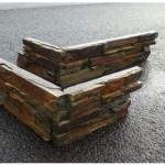 Parement ANGLE SHISTE 28-58x15,2x4cm 80pièces