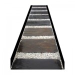 SHISTE NOIR-DALLES-80x50x4&6cm- 20unités par palette