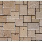 Travertin classique-veilli- (2,3x2,3+4,8x4,8 +2,3x4,8 +4,8x7,5)x1cm- 0,93m²par boite-41,86m²palette