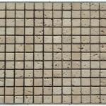 Travertin classique-veilli- 2,3x2,3x1cm- 0,93m²par boite-41,86m²palette