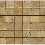 Travertin jaune- veilli 4,8x 4,8x 1cm-0,93m²- 41,,86m²