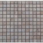 Travertin mixte- veilli 4,8 x 4,8 x1cm- 0,93m² par boite- 41,86m²palette