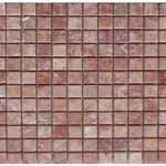 Travertin rose- veilli 2,3x 2,3x 1cm- 1,02m² par boite- 55,25m²palette
