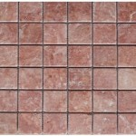 Travertin rose- veilli- 4,8x 4,8x 1cm- 1,02m²par boite- 55,25m²palette
