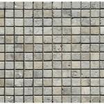 Travertin silver- veilli 2,3x2,3x1cm- 0,93m²par boite- 41,86m²palette